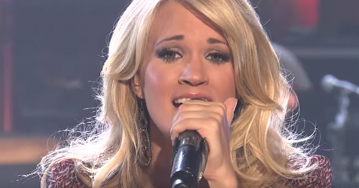 carrie underwood performance