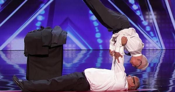 Elderly Best Friends Stun The Judges On America's Got Talent With Surprising Balancing Act