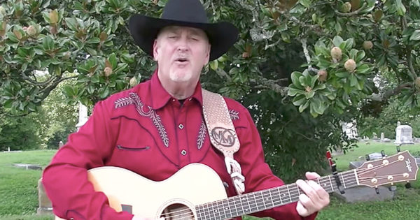Country Singer Performs Original Song 'If There's A Phone In Heaven'
