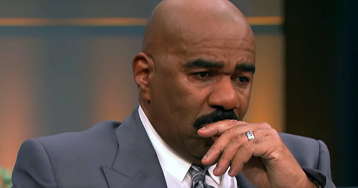Steve Harvey in tears Duranice Pace gospel singer