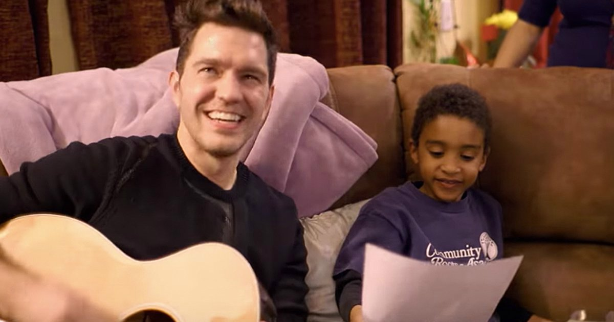 andy grammer visits dying mom ellie and son jalen