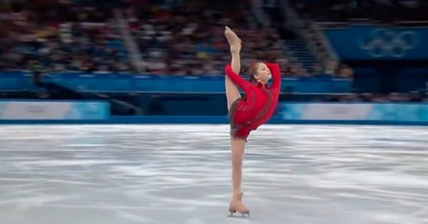 15-Year-Old Russian Ice Skater Performs Emotional Routine That Blows Everyone Away