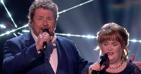 Susan Boyle Sings 'A Million Dreams' with Michael Ball in Magnificent Performance on BGT Finale