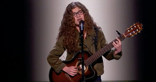 Shy Bullied Teen Sophie Pecora Performs Original Song And Wins Golden Buzzer