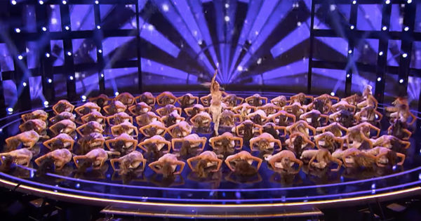 The Emerald Belles Return To AGT For Energetic High Kick Routine