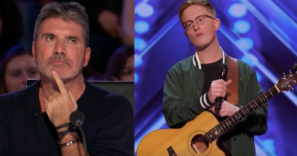 Simon Cowell Gives Tense Singer Lamont Landers A Second Chance To Audition
