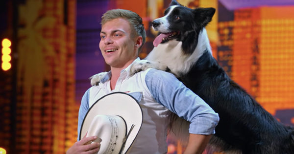 Talented Dog And Trainer Show Off Their Moves With A 'Footloose' Routine On AGT