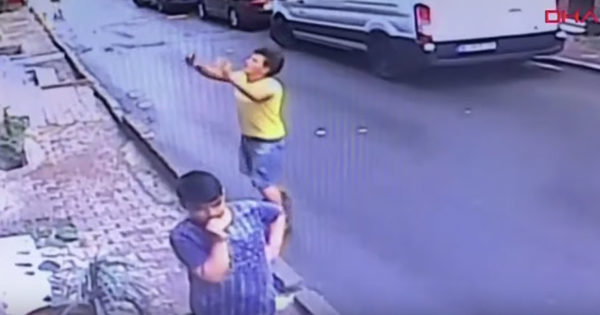 Heroic Teen Miraculously Catches Toddler Falling From A Building