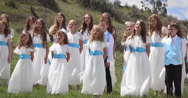 Beautiful Cover Of 'Well Done' By The Vision Children's Choir