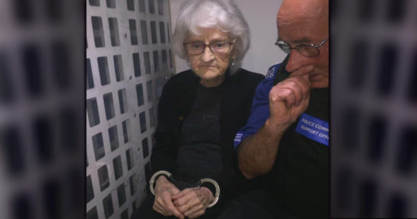 93-Year-Old Grandma Gets Arrested After Being Good All Her Life But All Because She Asked For It