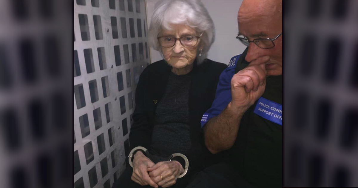 grandma arrested josie birds
