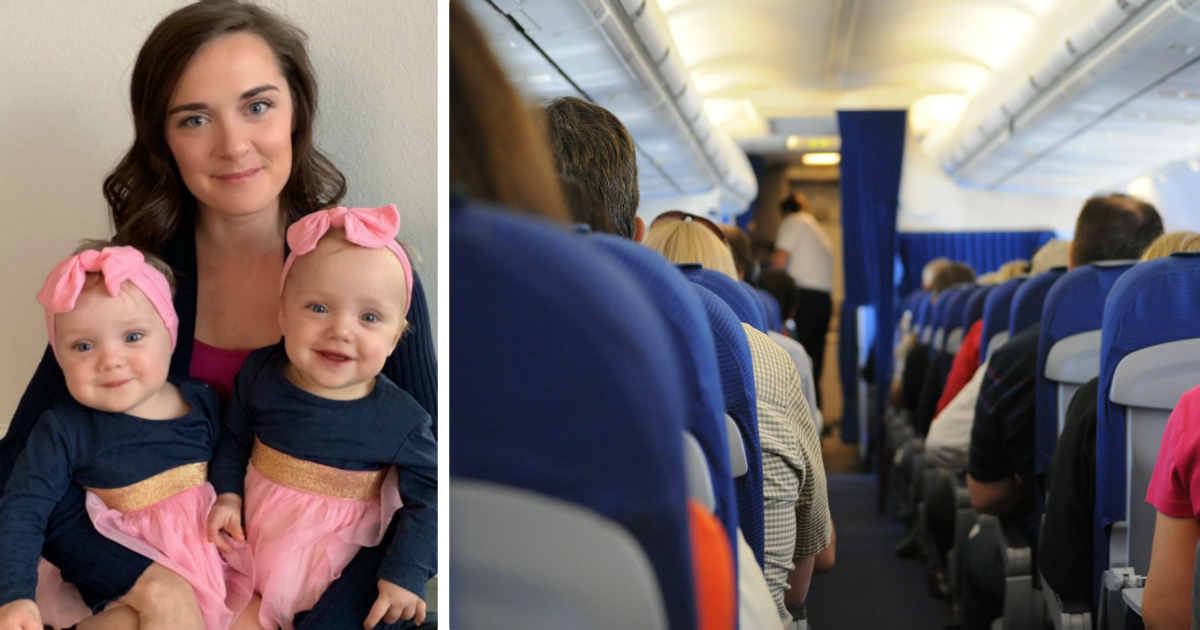 mom flying with sick baby kelsey zwick