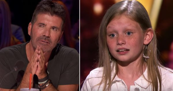 Ansley Burns Gets Stopped By Simon For A Second Time On AGT