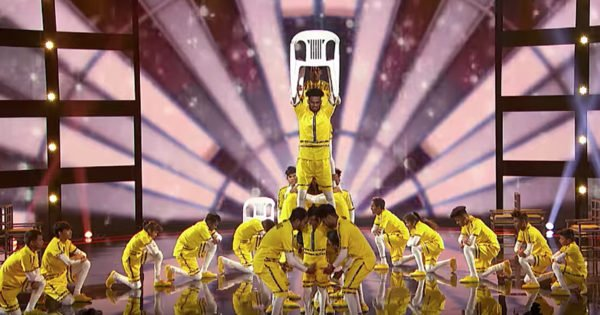 V.Unbeatable Dance Crew Wins Golden Buzzer From Dwayne Wade