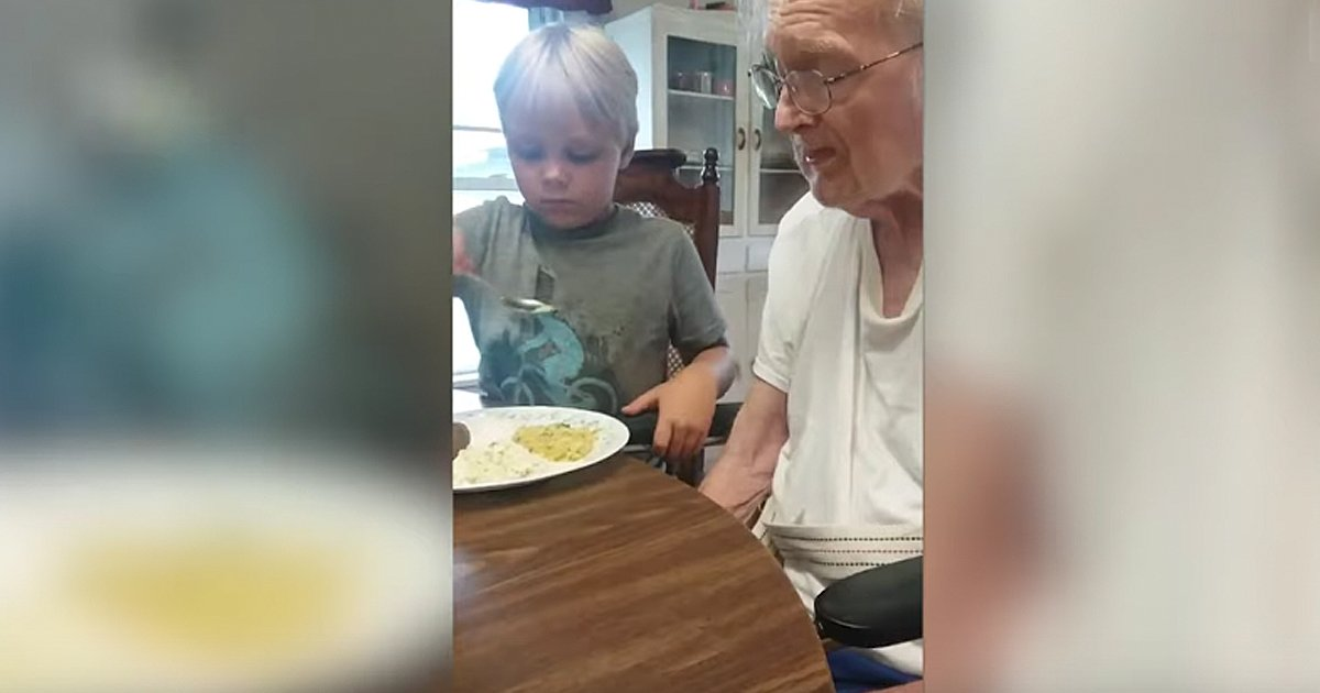 great-granddad with alzheimer's