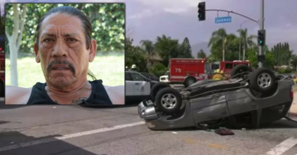 'Tough Guy' Celebrity Danny Trejo Pulls Screaming Boy From Wreck After God Put Him In Right Place