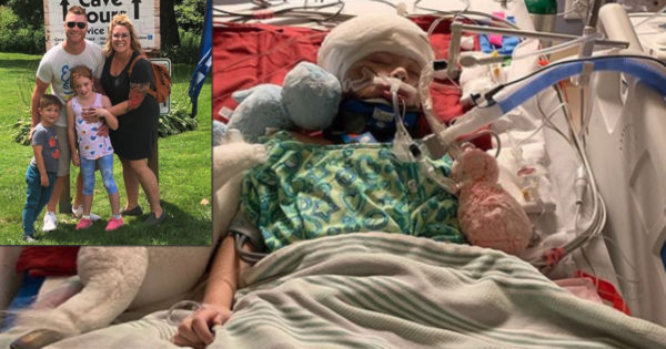 Mom Begs for Prayers After Freak Golf Cart Accident Has 7-Year-Old Eva Love Fighting for Life