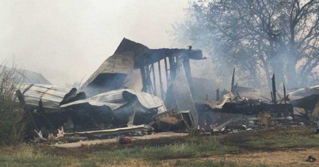 house fire danielle johnston