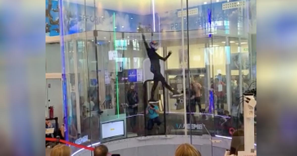 sky diving dance