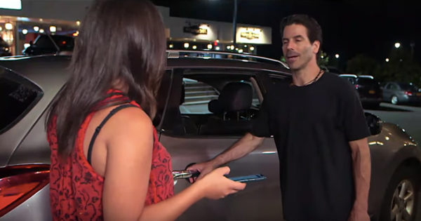 Strangers Intervene When A Man Claims To Be Woman's Rideshare Driver