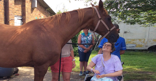 Dying Woman Says Emotional Goodbye To Horse And Then Passes Away