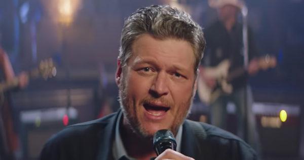 Blake Shelton Performs 'Jesus Got A Tight Grip'