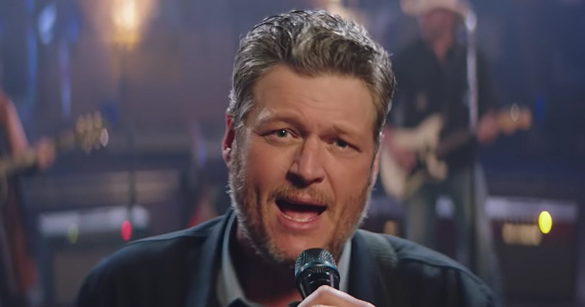 jesus got a tight grip, blake shelton