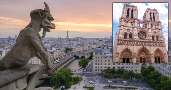 The Story Behind The Gargoyles on Top of Notre Dame Cathedral
