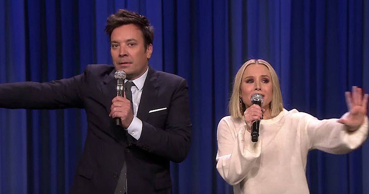 kristen bell and jimmy fallon