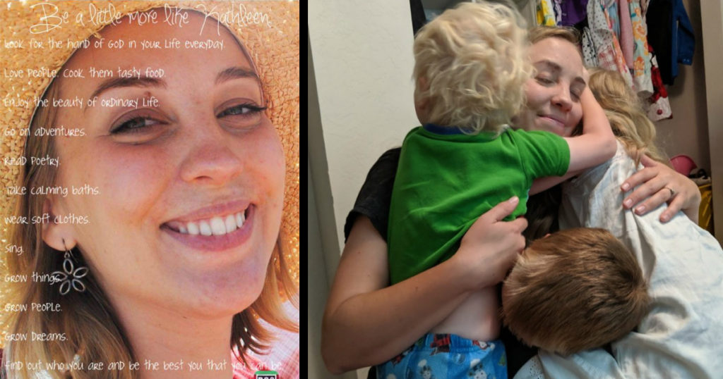 mom gave birth organ donor kathleen thorson