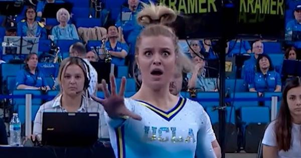 Gymnastics Floor Routine Gracie Kramer Villain Theme