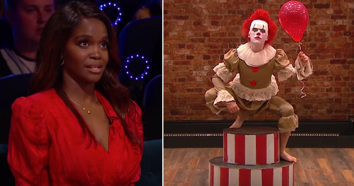 clown dance routine harrison the greatest dancer