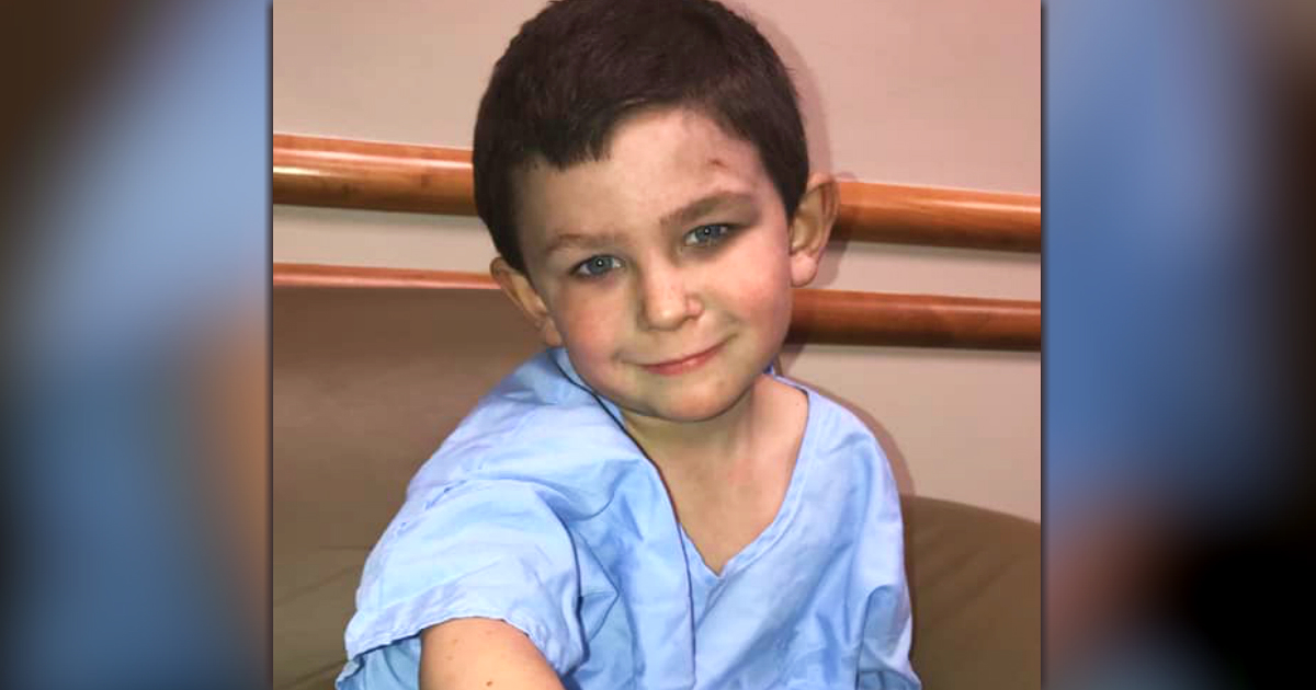 5-year-old saves family Noah Woods