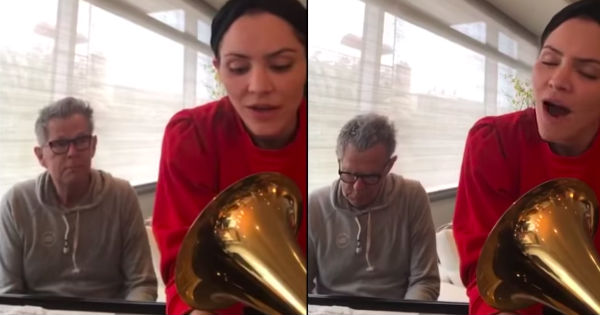 Katherine McPhee and David Foster Hallelujah