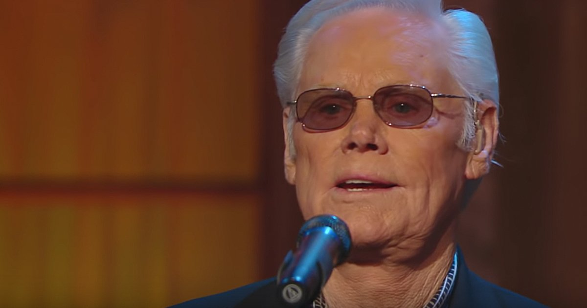 George Jones Amazing Grace Live Performance