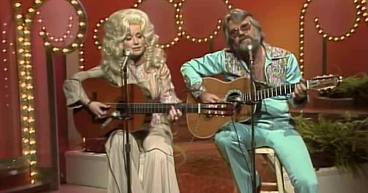 Kenny Rogers and Dolly Parton Love Lifted Me 1976