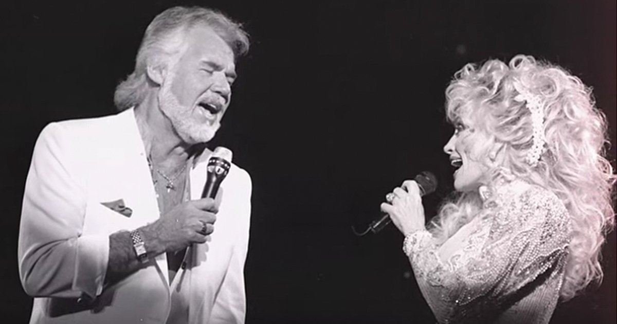 Dolly Parton and Kenny Rogers You Can't Make Old Friends