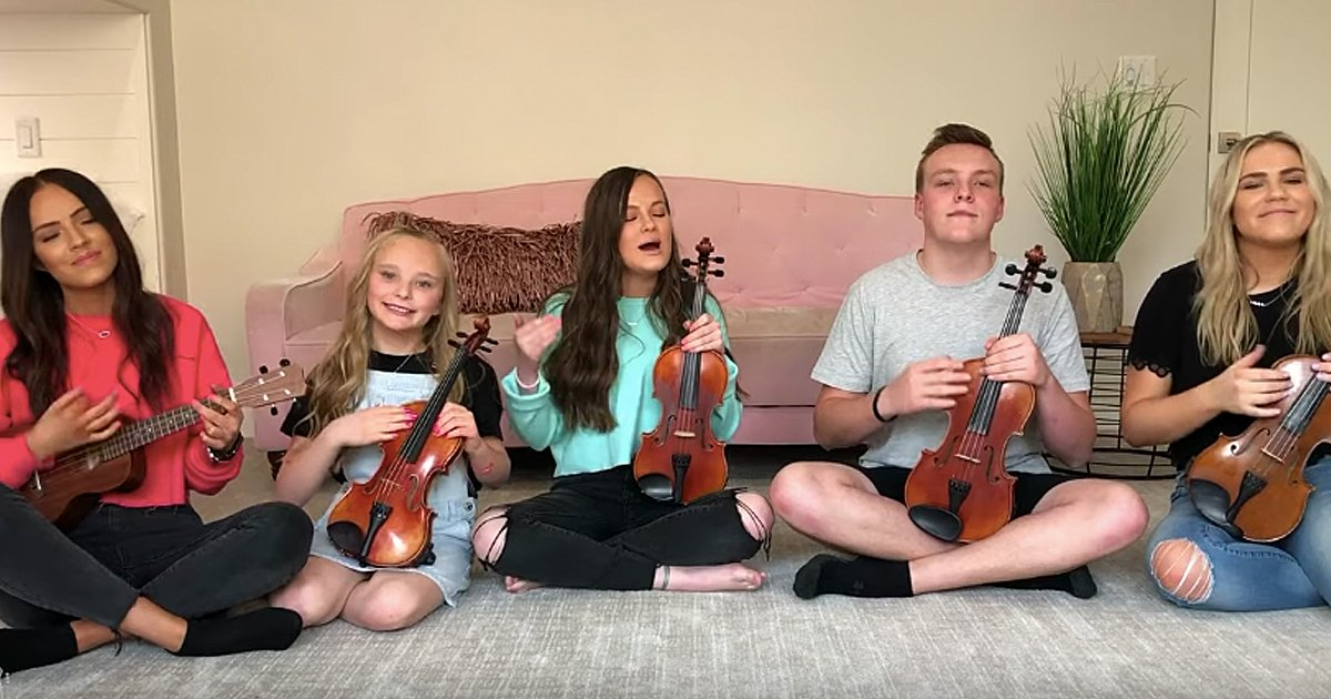 The Five Strings Family Angels Among Us