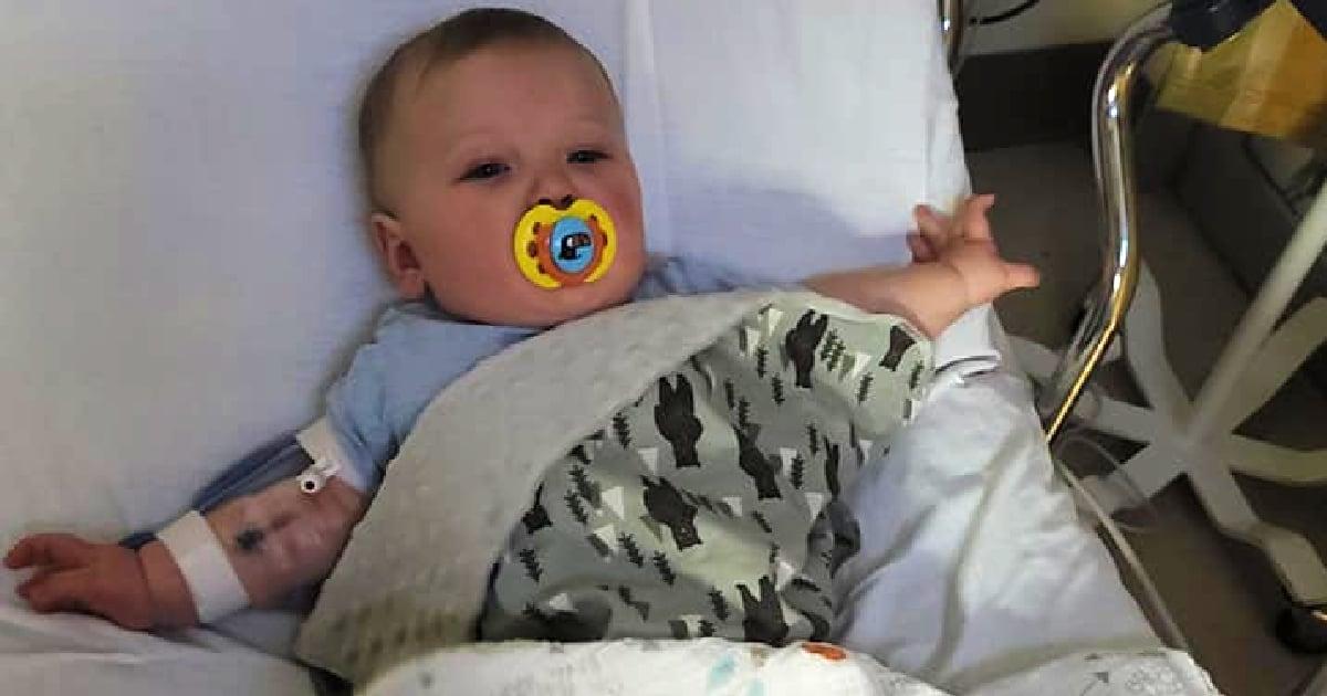 coronavirus in baby courtney doster