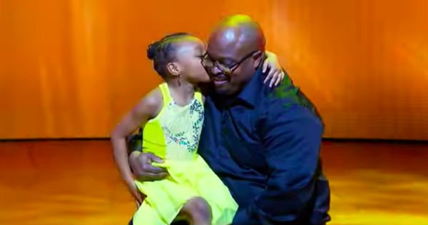 Daddy and Daughter dance to 'Why I Love You'