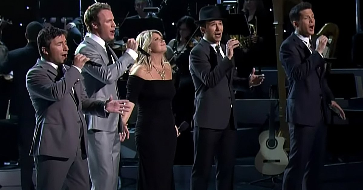 The Tenors Amazing Grace with Natalie Grant