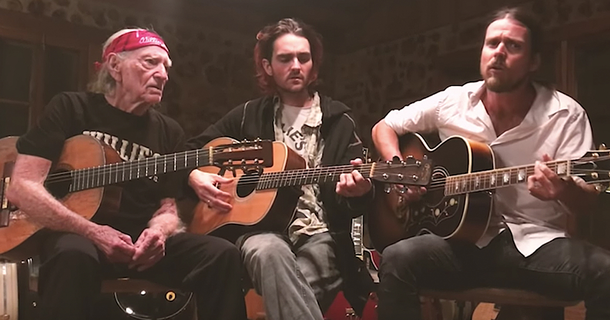 Willie Nelson and sons Lukas and Micah Turn Off the News And Build A Garden