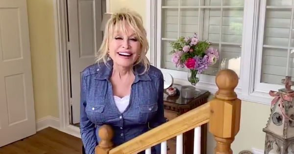 Dolly Parton Is At Home Sharing Encouraging Words We All Need To Hear During Coronavirus