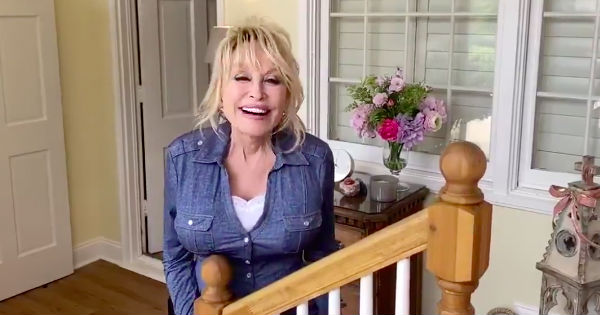 dolly parton at home