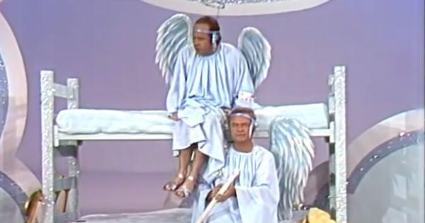 Tim Conway and Harvey Korman Angel Skit