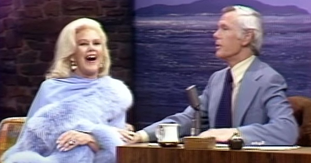 Ginger Rogers dances with Johnny Carson