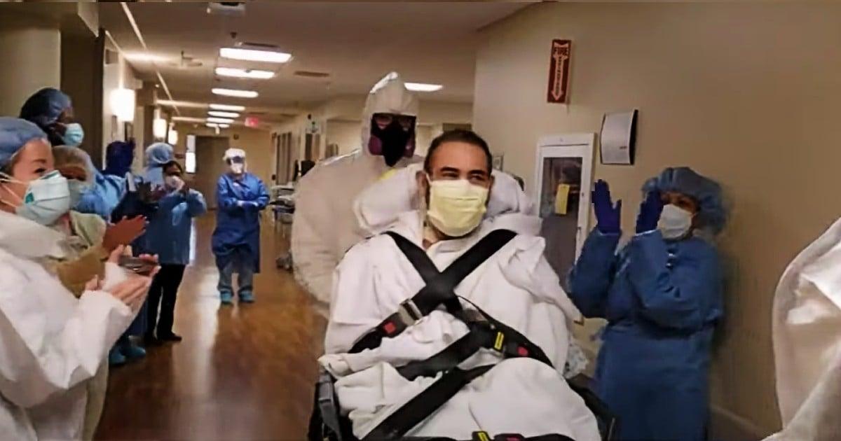 man in coma fighting COVID-19 ignacio esparza
