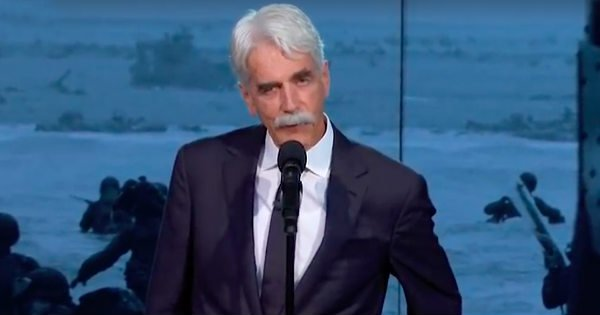 actor sam elliott d day speech sgt ray lambert