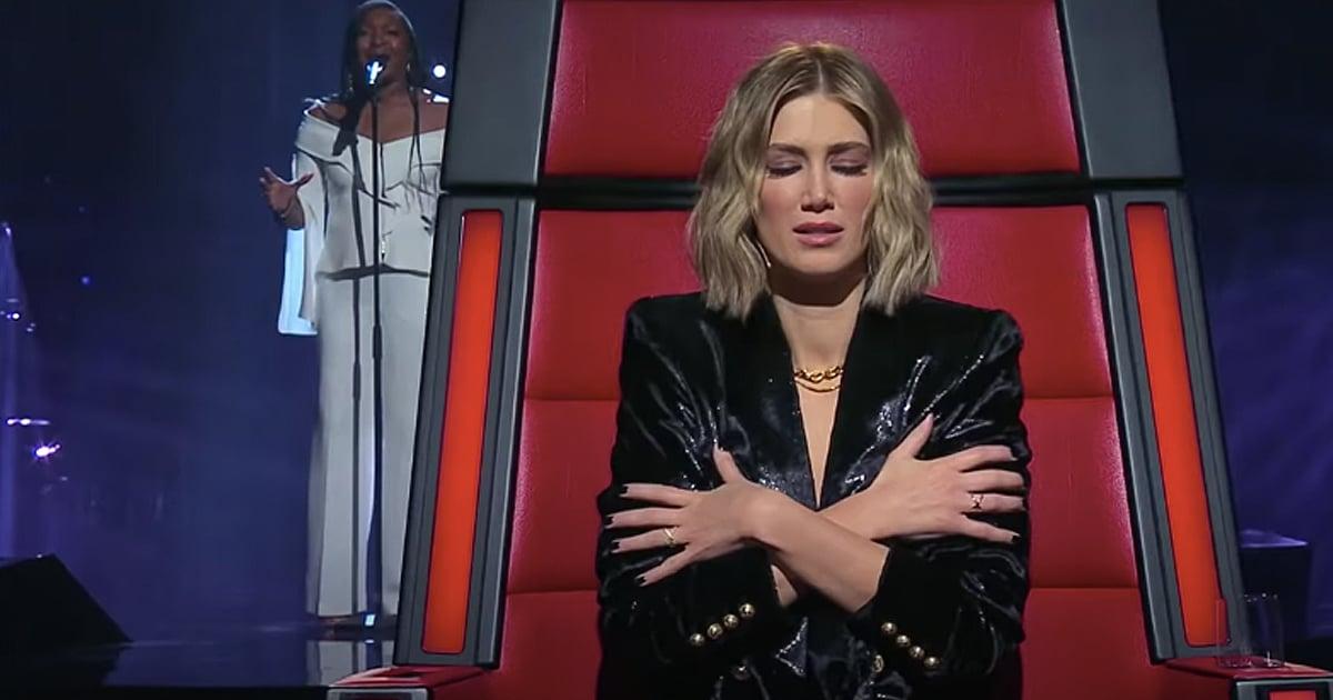 Angela Fabian blind audition Amazing Grace