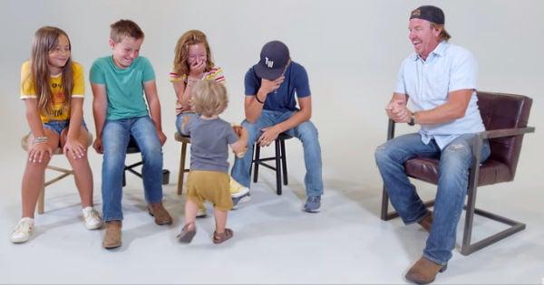 Chip Gaines kids Dad Jokes